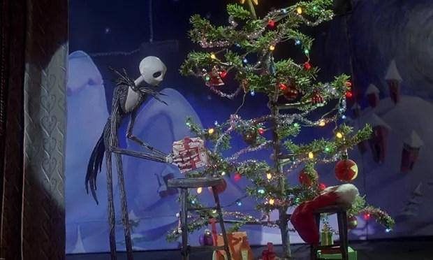 Resultado de imagem para O Estranho Mundo de Jack árvore de natal