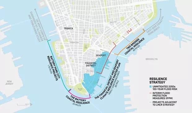 Prefeito de NY propõe plano bilionário para evitar que cidade fique submersa (Foto: Divulgação)