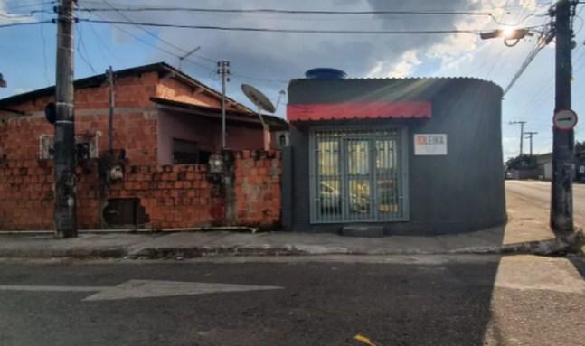 Crime ocorreu no Bairro Estação Experimental — Foto: Andryo Amaral/Rede Amazônica