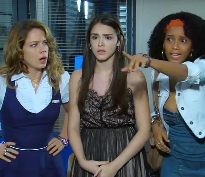As três Marias se metem em muita confusão (Foto: TV Globo)