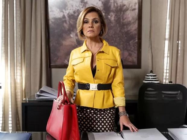 A advogada está pronta enfrentar Beatriz (Foto: Ellen Soares/Gshow)