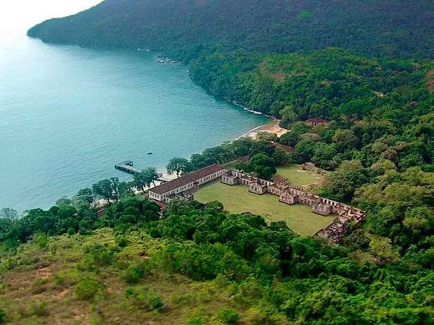 7 Maravilhas do Vale - Ilha Anchieta em Ubatuba (Foto: Reprodução/TV Vanguarda)