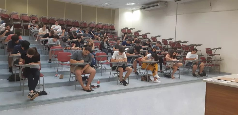 Provas do vestibular da Unicamp em 2021 ocorrerão a partir de janeiro — Foto: Bruna Ferreira/G1