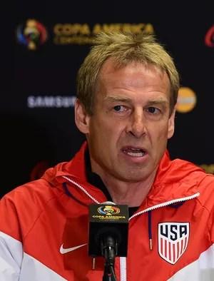 Klinsmann coletiva Estados Unidos Copa America (Foto: AFP)