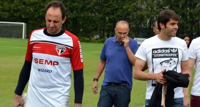 kaka Rogério São Paulo (Foto: Site oficial do SPFC)