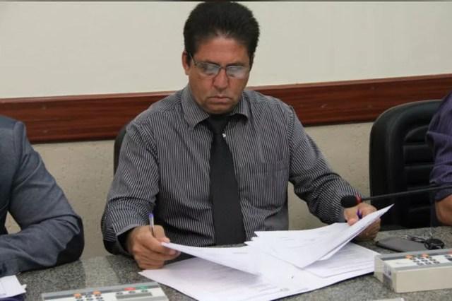 Vereador conhecido como Hulk foi atingido por quatro disparos de arma de fogo (Foto: Câmara de Várzea Paulista/Divulgação)