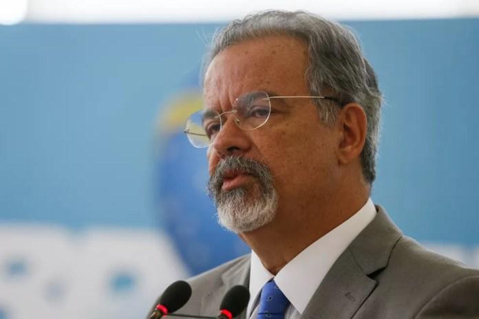 Raul Jungmann, agora ministro da Segurança Pública, decidiu demitir o diretor-geral da PF, Fernando Segovia (Foto: Beto Barata/Presidência da República)