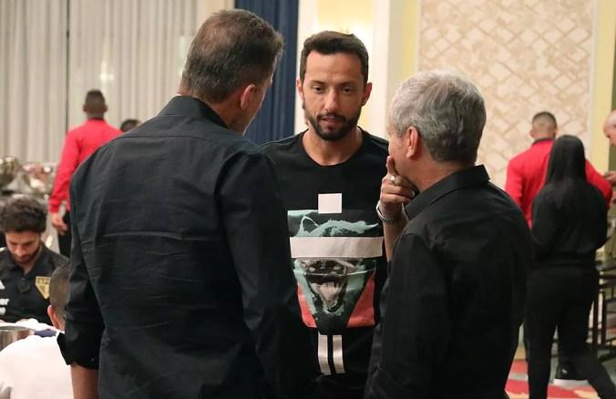 Nenê, do São Paulo, é alvo do Fluminense — Foto: Rubens Chiri / saopaulofc.net