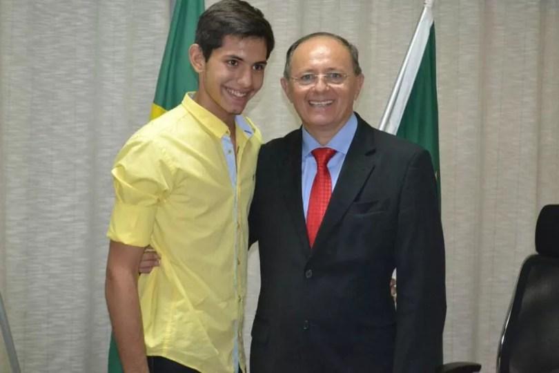 Benes Júnior, de 16 anos, filho de Benes Leocádio, foi morto a tiros em Natal (Foto: Reprodução/Facebook)