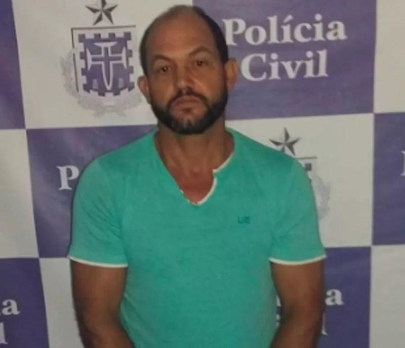 Homem é preso no sul da Bahia apontado por estuprar filha de 11 anos e ex-enteado (Foto: Divulgação/Polícia Civil)