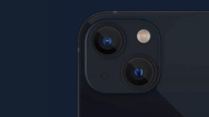 Câmera traseira do iPhone 13 — Foto: Reprodução/YouTube
