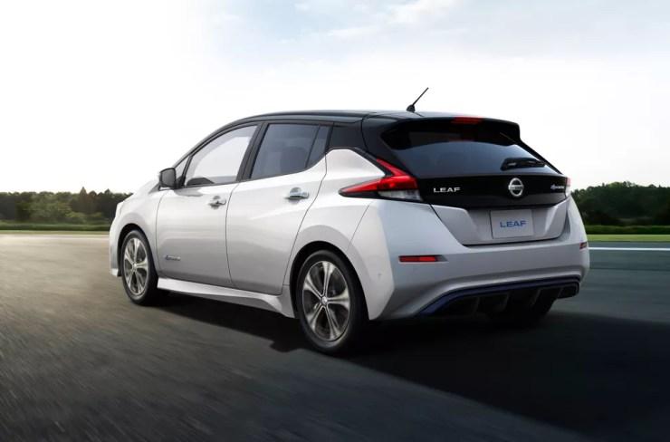 Nissan Leaf — Foto: Divulgação