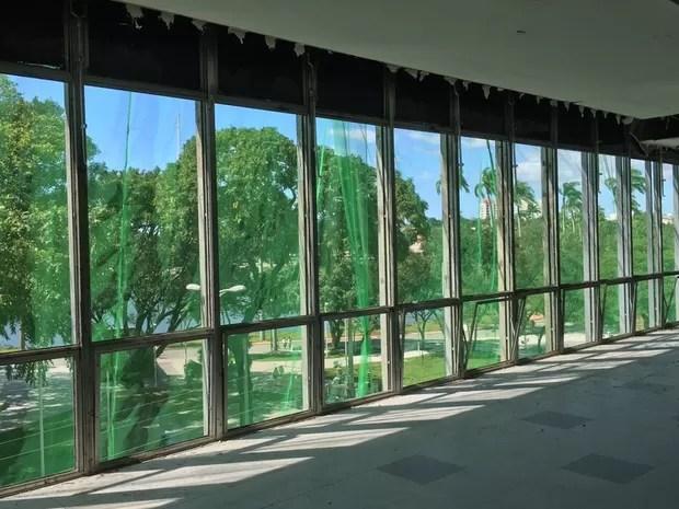 Shopping vai ter janelas panorâmicas com vista para o Parque da Lagoa (Foto: Isabelle Di Paula/Divulgação)