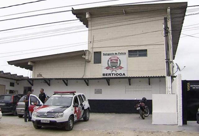 Caso é investigado pela equipe da Delegacia Sede de Bertioga, SP (Foto: Reprodução/TV Tribuna)