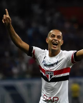 Ytalo gol Cruzeiro x São Paulo (Foto: FERNANDO MICHEL - AGÊNCIA ESTADO)