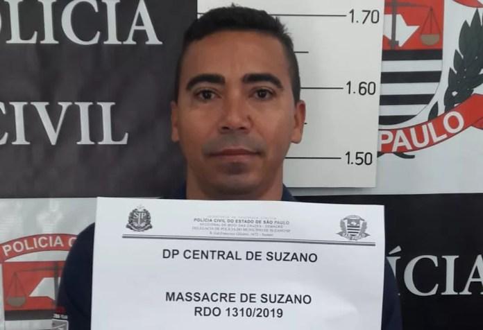 Tathiano Oliveira de Queiroz foi preso nesta quinta (11) por suspeita de envolvimento no massacre da Raul Brasil — Foto: Polícia Civil/Divulgação