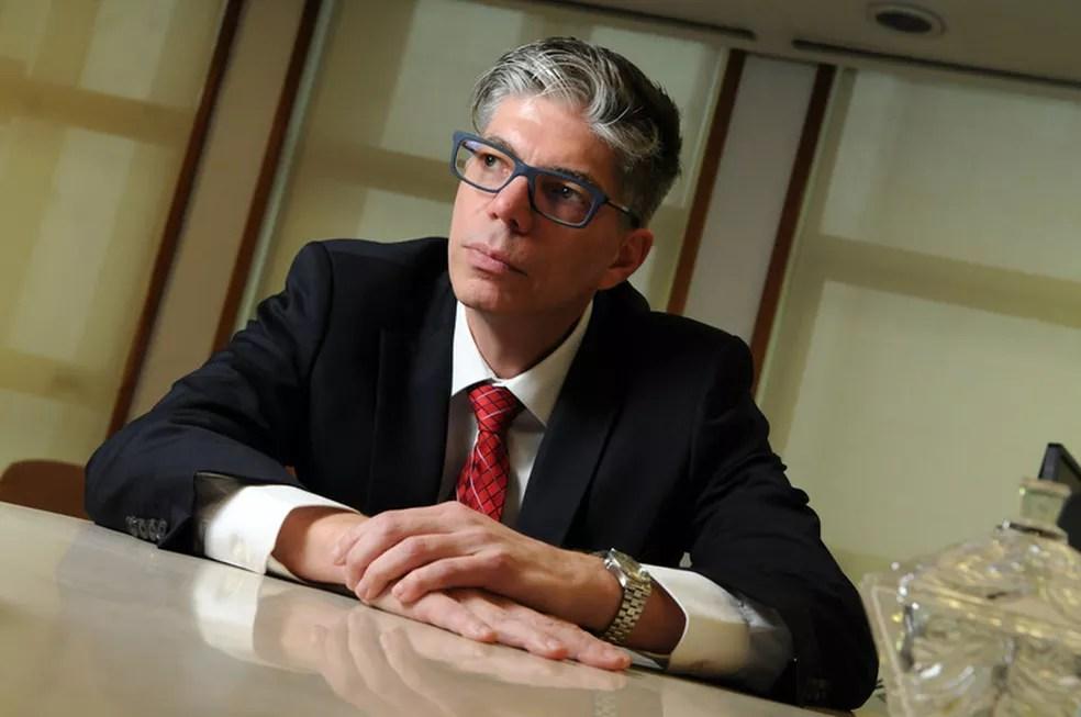 Alexandre Mathias, diretor de investimento da Petros: processo começou com a reconstrução de governança da fundação — Foto: Valor