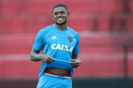 Anselmo deixou o Sport como o artilheiro do time na temporada, com sete gols (Foto: Aldo Carneiro/ Pernambuco Press)