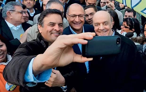 Selfie PSDB (Foto: Diego Bresani/ Reprodução)