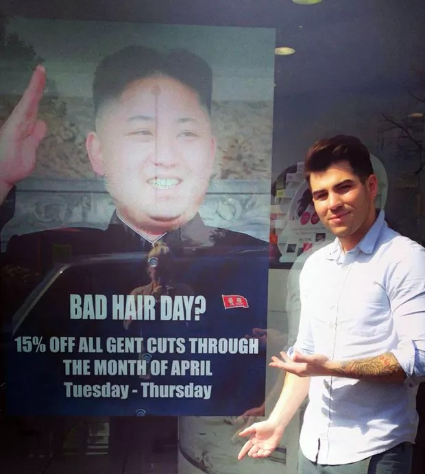 G1 Piada Com Cabelo De Kim Jong Un Vira Incidente