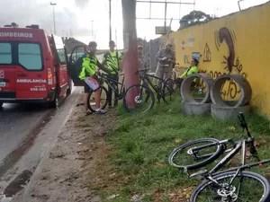 Motociclistas são atropelados em São Pedro da Aldeia, e motorista foge (Foto: Murilo Ribeiro Gomes/Divulgação)