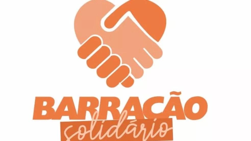Projeto Barracão Solidário — Foto: Reprodução/Facebook