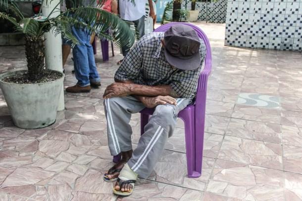 Aumentou em 139,8% número de denúncias de violações dos direitos da pessoa idosa em Pernambuco — Foto: Ray Evllyn/SJDH