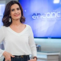 Encontro com Fátima Bernardes quarta-feira 28/09/2016 – A atriz Elisabeth Savala e o ator Lúcio Mauro Filho