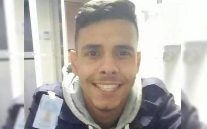Guilherme Alves Pereira, que foi morto durante o trabalho em condomínio de Itumbiara — Foto: Reprodução/ TV Anhanguera