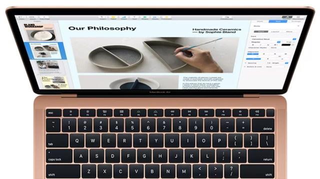 Em Hong Kong, MacBook Air 2018 chega a custar menos que a metade do preço no Brasil — Foto: Divulgação/Apple