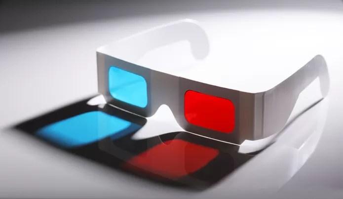 """Óculos 3D """"tradicionais"""" podem ser comprados ou feitos em casa (Foto: Pond5*)"""