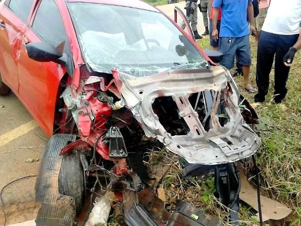 Enfermeira de 33 anos sofreu acidente na manhã deste domingo (27) na BR-317 (Foto: Alexandre Lima/Arquivo Pessoal)