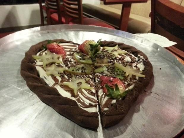 Pizza de coração faz sucesso, Sweet Amado
