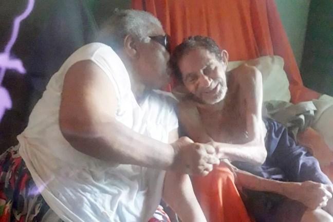 Idosos eram casados há 66 anos, em Patos, na Paraíba — Foto: Luzia Ambrósio/Arquivo Pessoal
