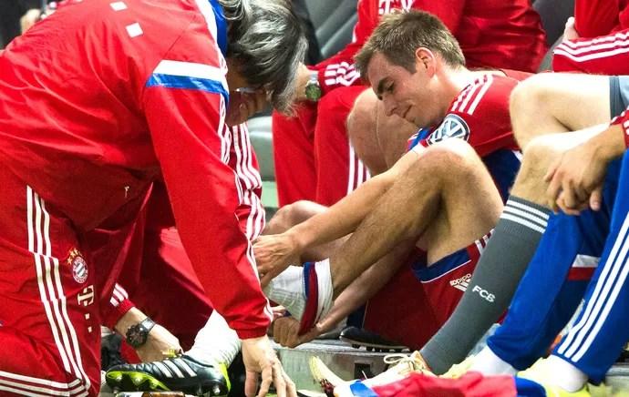 Philipp Lahm Borussia Dortmund e Bayern de Munique (Foto: Agência AP )