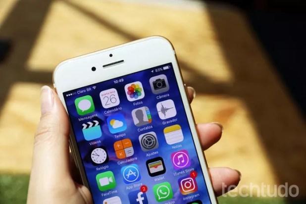 iPhone 7 (Foto: Anna Kellen Bull/TechTudo)