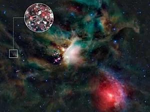 Açúcar espaço (Foto: ESO/L. Calçada & NASA/JPL-Caltech/WISE Team)