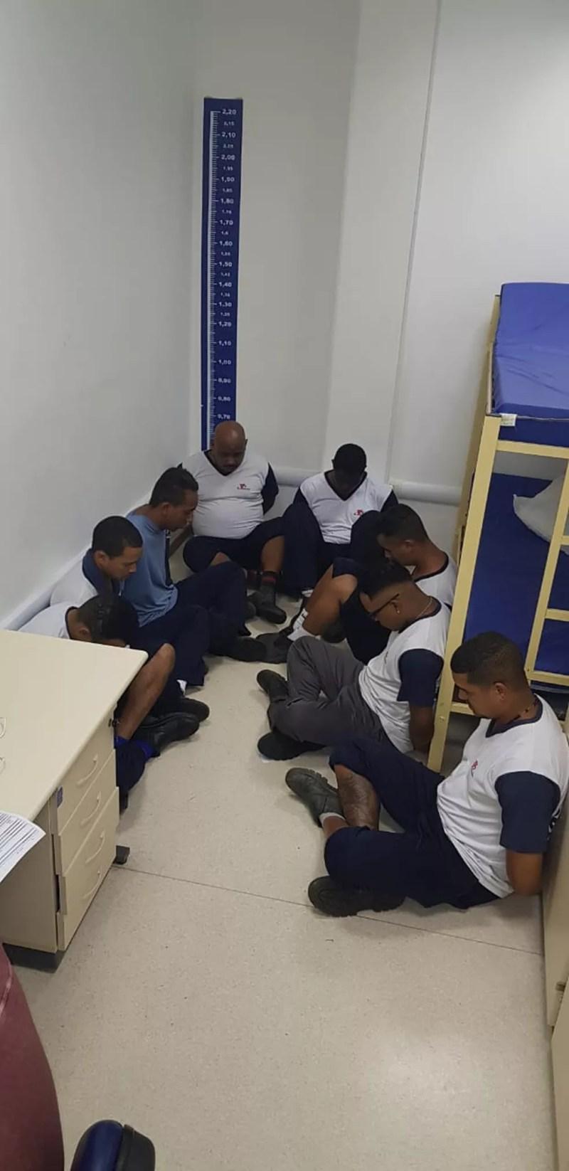 Suspeito de roubar delegacias foram presos — Foto: Divulgação