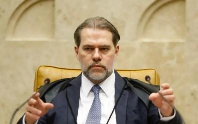 O ministro Dias Toffoli, presidente do STF, em imagem de dezembro de 2018 — Foto: Dida Sampaio/Estadão Conteúdo