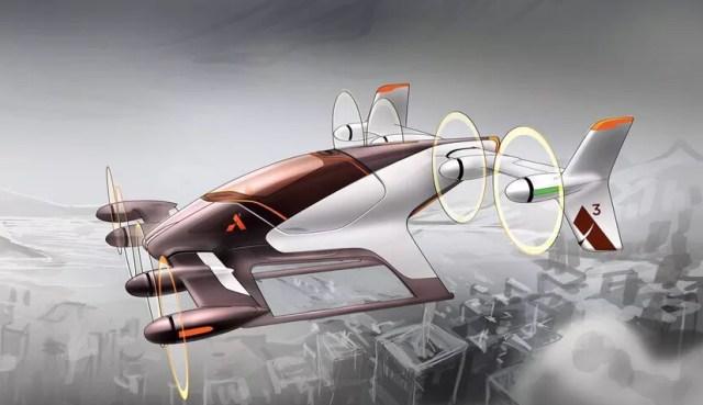 O protótipo do avião Vahana (Foto: Divulgação)