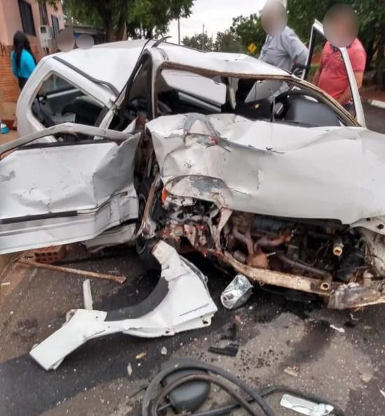 Rapaz morreu vítima de acidente de trânsito em Álvares Machado — Foto: Ricardo Rodrigues
