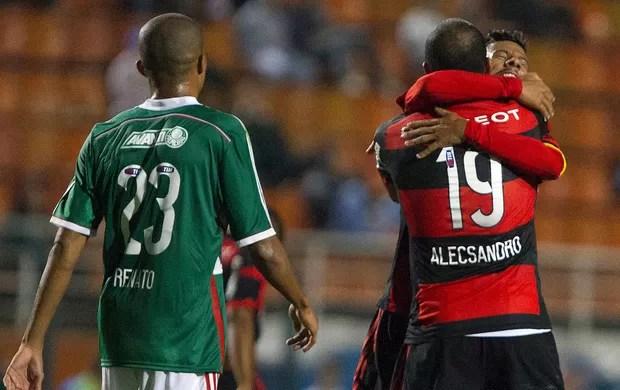 Palmeiras x Flamengo - Alecsandro (Foto: Agência Estado)