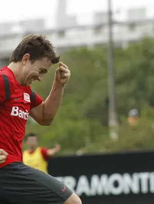 Dagoberto, atacante do Inter (Foto: Diego Guichard/GLOBOESPORTE.COM)