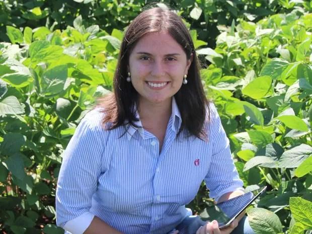 Mariana Vasconcelos, de 23 anos, criadora do Agrosmart (Foto: Divulgação/Agrosmart)