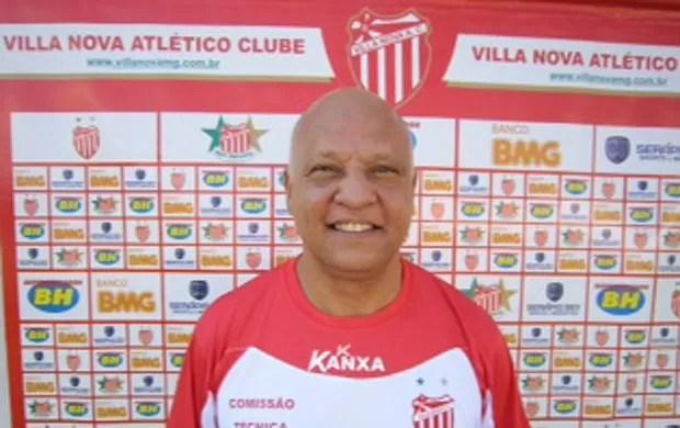 Reinaldo, técnico do Villa Nova (Foto: Divulgação / Assessoria Villa Nova)