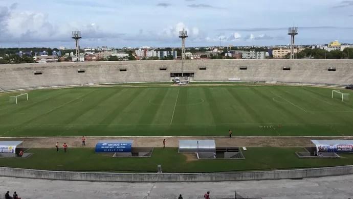 Estádio Almeidão (Foto: Lucas Barros / TV Cabo Branco)