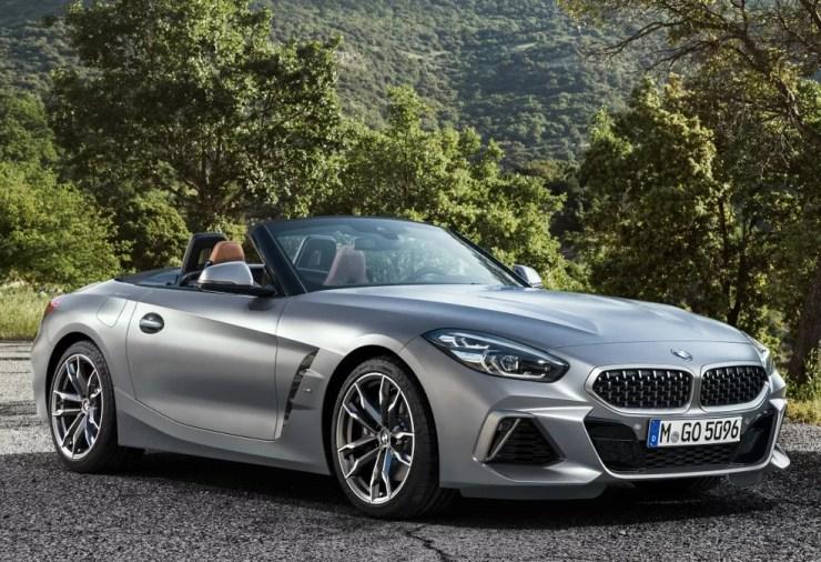 BMW Z4 — Foto: Divulgação/BMW