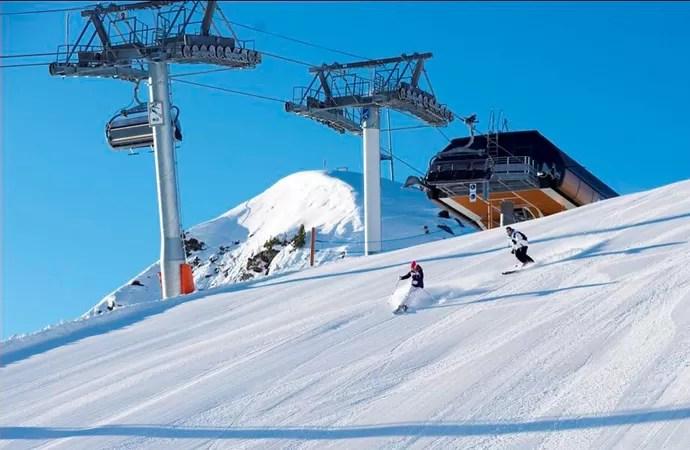 Estação de Esqui de Méribel frança (Foto: Divulgação)