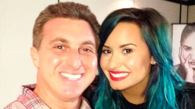 Luciano Huck promove encontro de Demi Lovato com fã brasileira