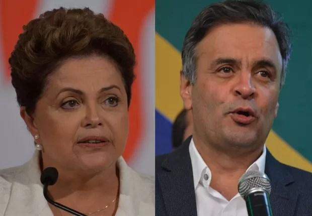 Dilma e Aécio (Foto: Agência Brasil)